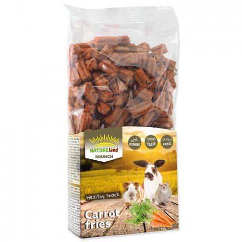 Лакомство для грызунов - Nature Land Brunch Carrot Fries, 300 г title=