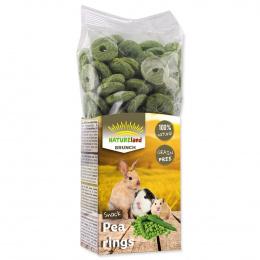 Papildbarība grauzējiem - Nature Land Brunch Peas rings, 100 g