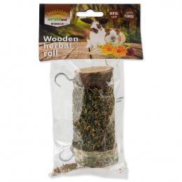 Gardums grauzējiem - Nature Land Nibble Herbal Playing Wood roll, 120 g