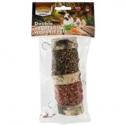 Лакомство для грызунов - Nature Land Nibble Vegetable Wooden roll, 160 г