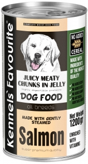 Консервы для собак - Kennels` Favourite Canned Dog Salmon, 1200 г