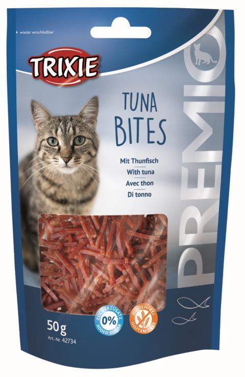 Gardums kaķiem - PREMIO Tuna Bites, 50 g