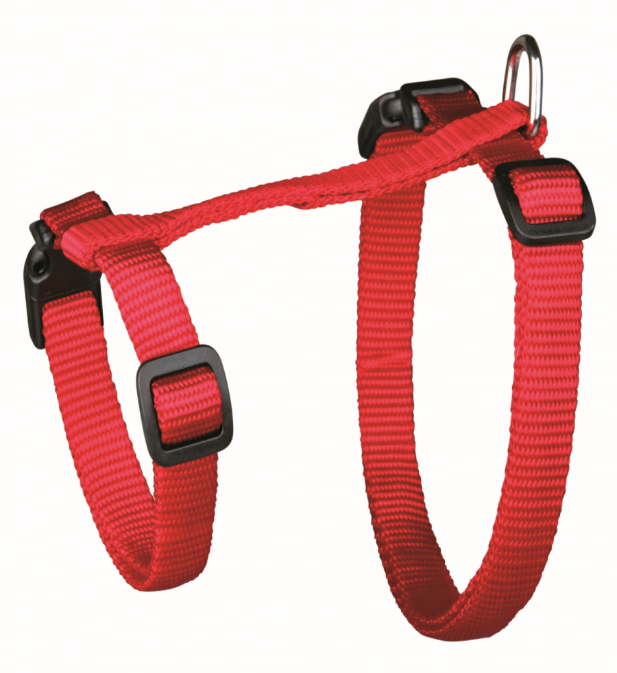 Krūšu siksna ar pavadu kaķiem - Trixie Cat harness with lead, XL, neilona