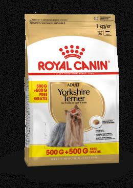 Barība suņiem - Royal Canin Yorkshire Terrie, 0.5 kg+0.5 kg