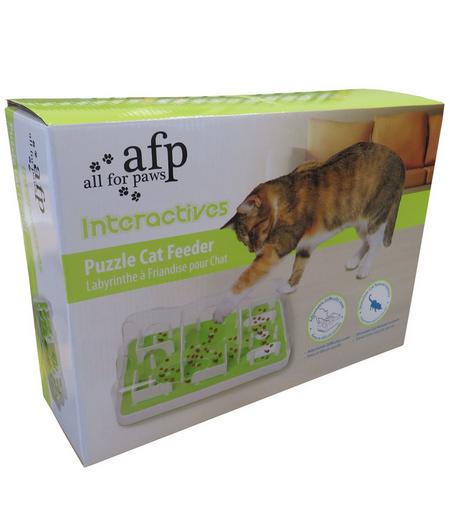 Rotaļlieta kaķiem - AFP Interactive Puzzle Cat Feeder