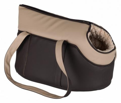 Сумка для транспортировки животных - TRIXIE Lorena carrier, 25*29*46см, цвет - коричневый / бежевый