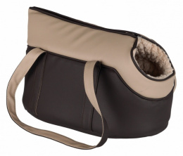 Transportēšanas soma dzīvniekiem - TRIXIE Lorena carrier, 25*29*46 cm, krāsa - brūna/bēša