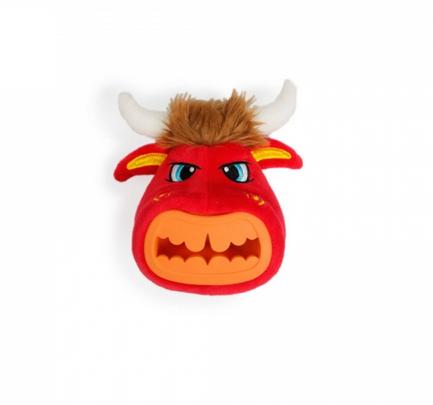 Игрушка для собак - AFP Treat Hider Bull, S title=