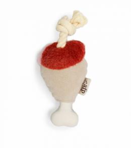 Rotaļlieta suņiem – AFP Yummy Feast, Chicken Leg With Flavored Rope