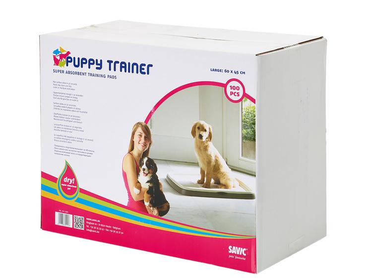 Absorbējošie paladziņi - Savic Puppy Trainer L, 60 x 45 cm, 1 gab.
