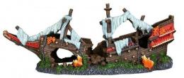 Dekors akvārijam - Trixie Shipwreck / Kuģa vraks, 38 cm