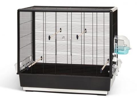 Клетка для птиц - Primo 60 Knock Down, black