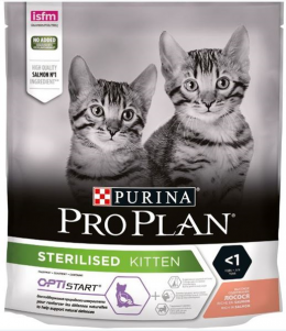 Корм для котят - Pro Plan STERILISED Cat Salmon START, 0.4 кг