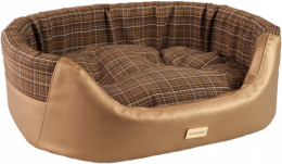 Guļvieta suņiem - Amiplay Ellipse bedding 2in1 Venus Gold, L 67x64x22 cm