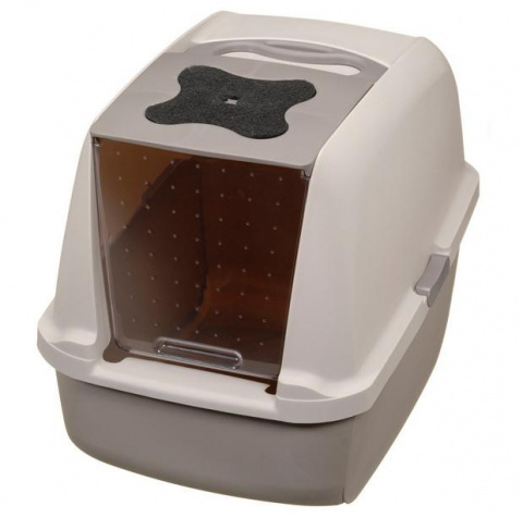 Tualete kaķiem - CatIt Tiger Jumbo (grey/brown)