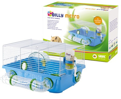 Клетка для грызунов - Savic Billy Metro, 42.5*38*23 см title=