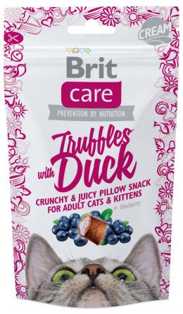 Gardums kaķiem - Brit Care Cat Snack Truffles Duck, 50 g