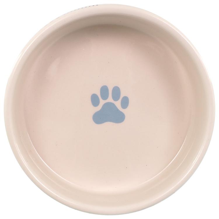 Керамическая миска  - Dog Fantasy, в цветную полоску, 12,5 см (0,28 л)