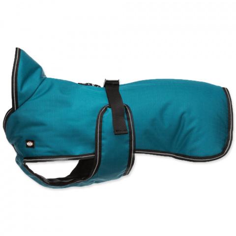 Apģērbs suņiem - Trixie Breval coat, L, 55 cm, petrol title=