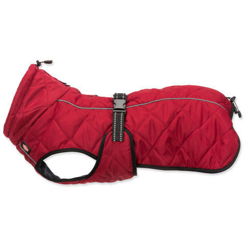 Одежда для собак - Trixie Minot coat, L, 55 см, red title=