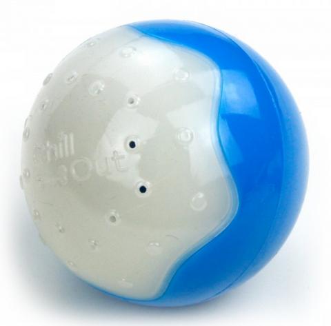 Охлаждающая игрушка для собак - AFP Chill Out Ice Ball, S title=