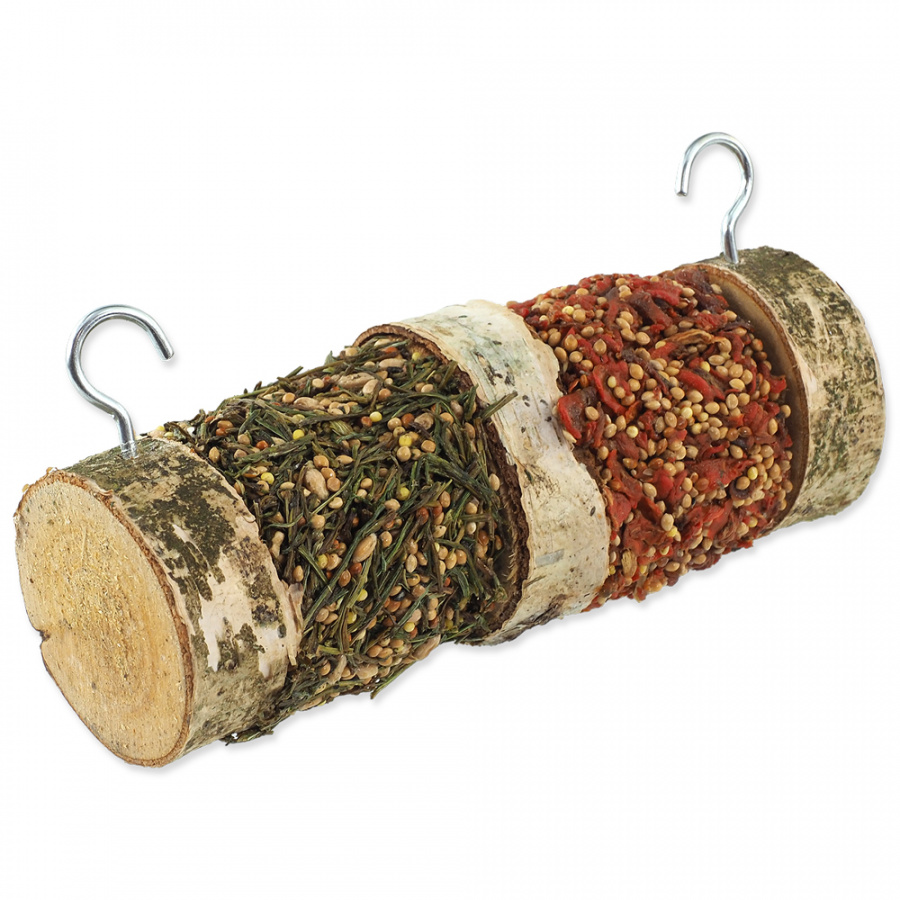Дополнительный корм для грызунов - Nature Land Nibble Vegetable Wooden roll, 160 г