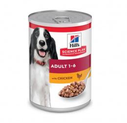 Konservi suņiem - Hill's Canine Adult Chicken, 370 g