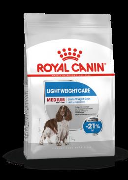 Diētiskā barība suņiem - Royal Canin Medium Light Weight Care, 3 kg