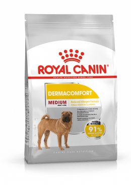 Barība suņiem - Royal Canin Medium Dermacomfort, 10 kg