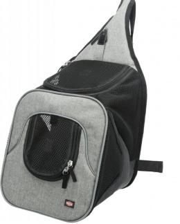 Рюкзак для перевозки животных - Trixie Savina Front Carrier, 30 × 33 × 26 см, black/grey