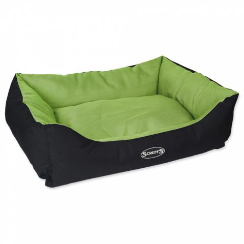 Guļvieta suņiem – Scruffs Expedition Box Bed (M), 60 x 50 cm, Lime title=