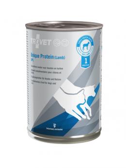 Ветеринарные консервы для собак и кошек - Trovet UPL Unique Protein Lamb, 400 г