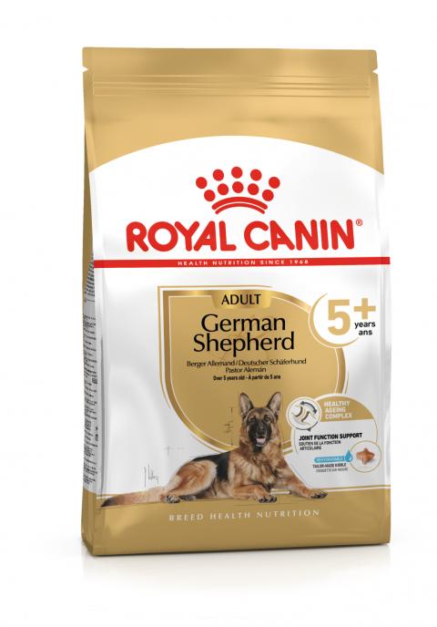 Корм для собак - Royal Canin German Shepherd Adult 5+, 12 кг title=
