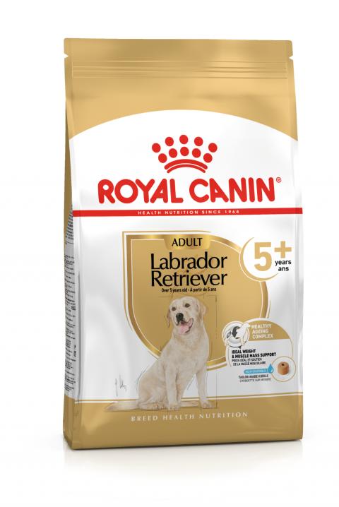 Корм для собак - Royal Canin Labrador Retriever Adult 5+, 12 кг title=