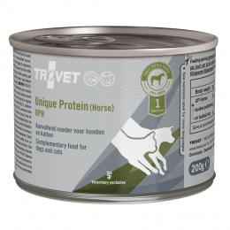 Veterinārie konservi kaķiem un suņiem - Trovet UPH Unique Protein Horse, 200 g