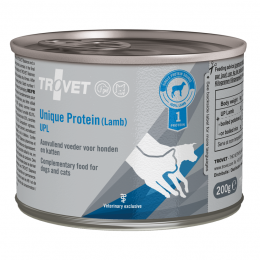Veterinārie konservi kaķiem un suņiem - Trovet UPL Unique Protein Lamb, 200 g