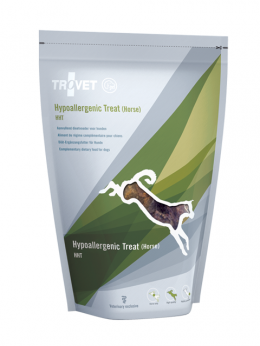 Gardums suņiem - Trovet HHT Hypoallergenic Treat, ar zirga gaļu, 250 g