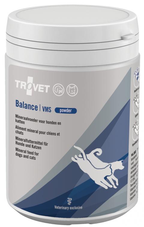Витамины для кошек и собак - Trovet VMS Balance, 250 г title=