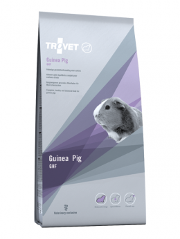 Barība jūrascūciņām - Trovet GHF Guinea Pig, 1.2 kg