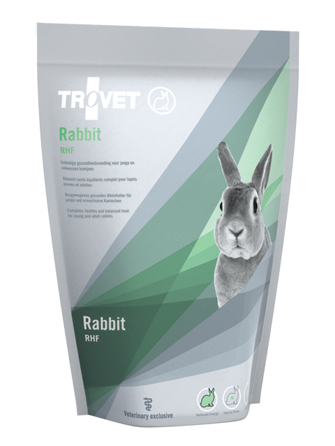Корм для кроликов - Trovet RHF Rabbit, 1.2 кг