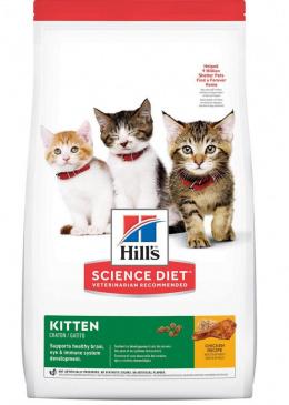 Корм для котят - Hill's Feline Kitten с курицей, 3 кг