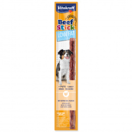 Gardums suņiem – Vitakraft Beef Stick Low Fat with Turkey, 12 g