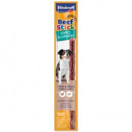 Лакомство для собак – Vitakraft Beef Stick Hypoallergenic with Turkey and Ostrich, 12 г