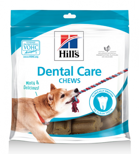 Лакомство для собак - Hill's Canine Dental Care Treats, 170 г
