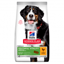 Корм для собак - Hill's Canine Mature Adult 5+ Youthful Vitality Large Breed, 2.5 кг