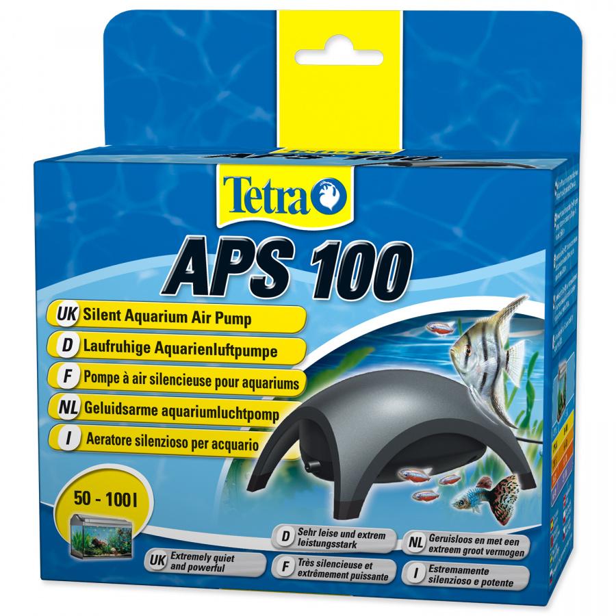 Kompresors akvārijam - Tetra Tec APS 100, melns