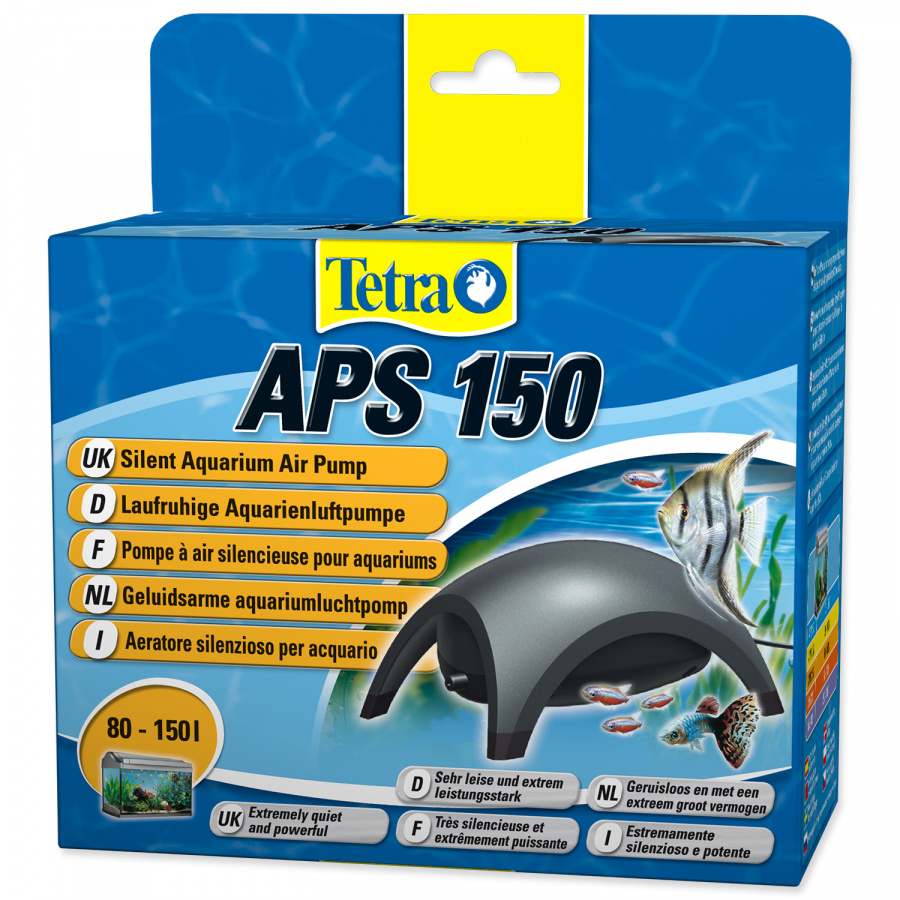 Kompresors akvārijam - Tetra Tec APS 150, melns