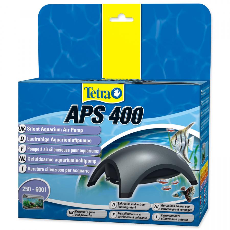 Kompresors akvārijam - Tetra Tec APS 400, melns