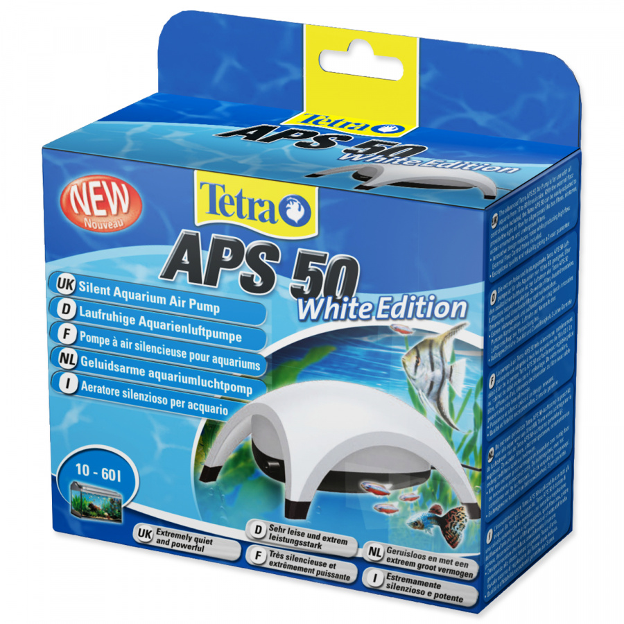 Kompresors akvārijam - Tetra Tec APS 50, balts