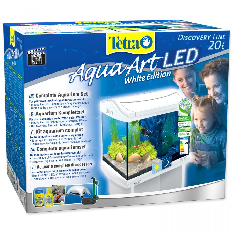 Akvārijs - TETRA Aqua Art LED 20l, white